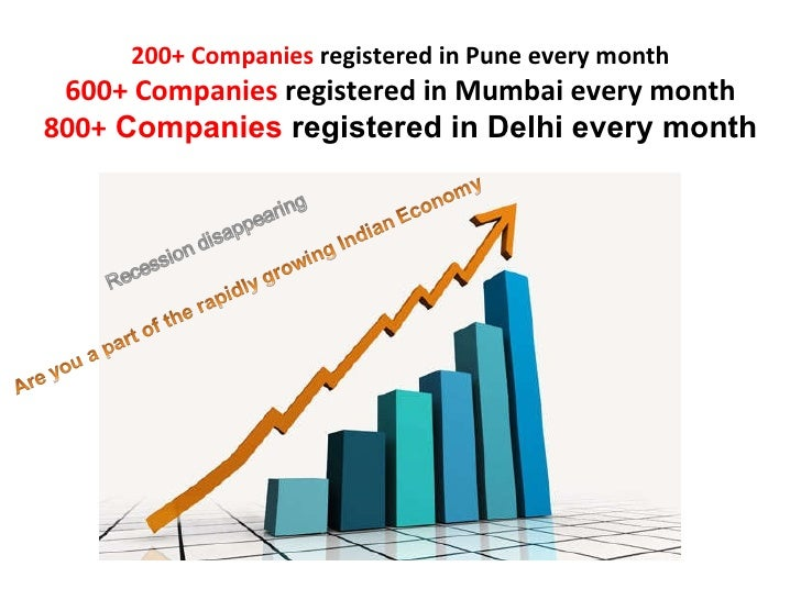 200+ Companies registered in Pune every month<br />600+ Companies registered in Mumbai every month<br />800+ Companies reg...