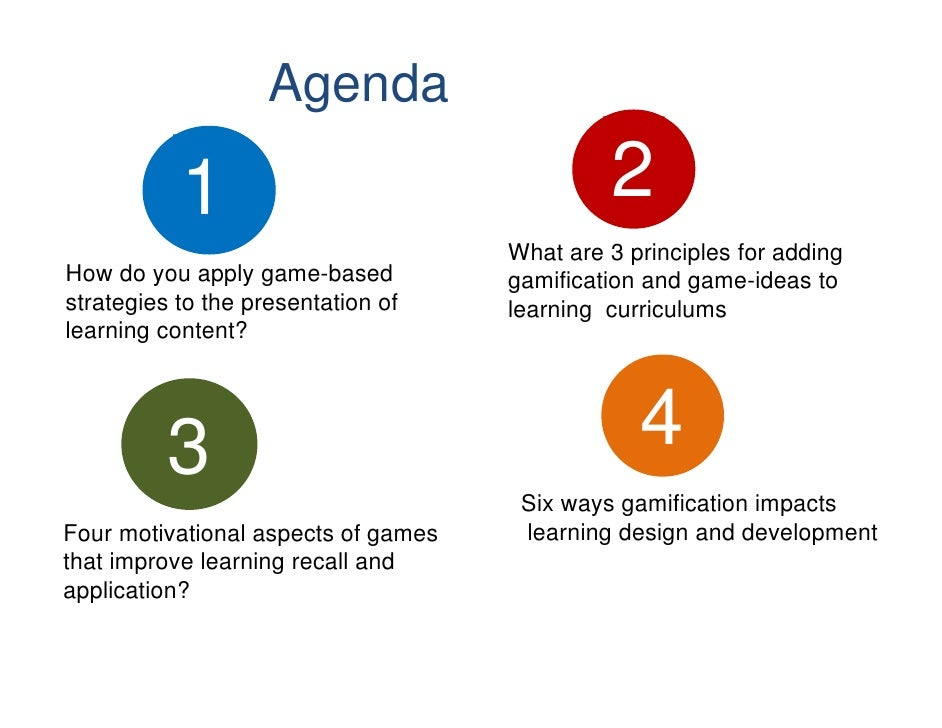 Agenda           1                                  2                                     What are 3 principles for adding...