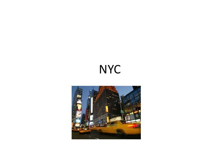 NYC<br />