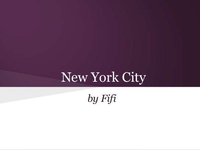 New York Cityby Fifi