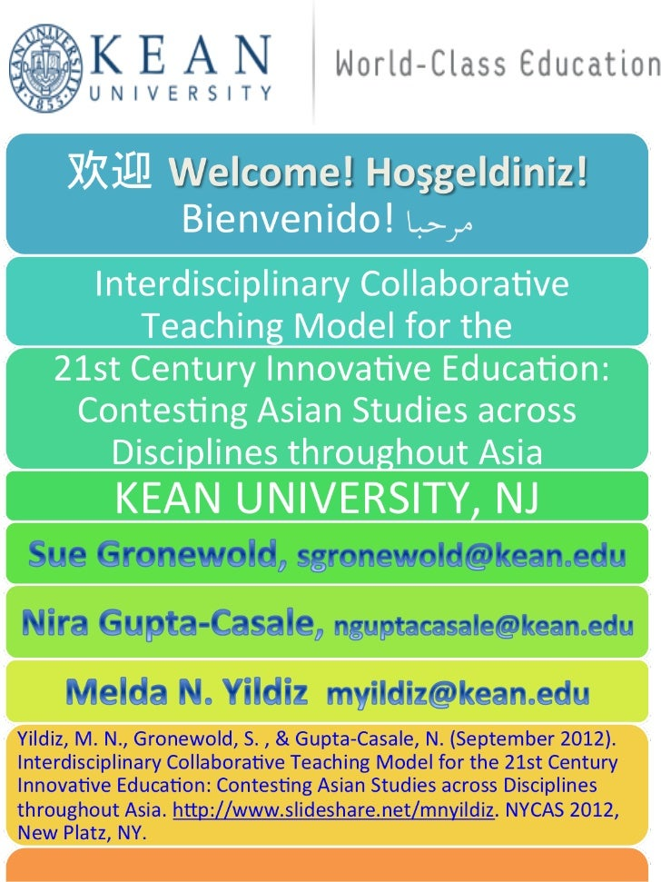 • Our online course model is at  https://sites.google.com/a/kean.edu  as2000• Our slides will be posted on• http://myildiz...