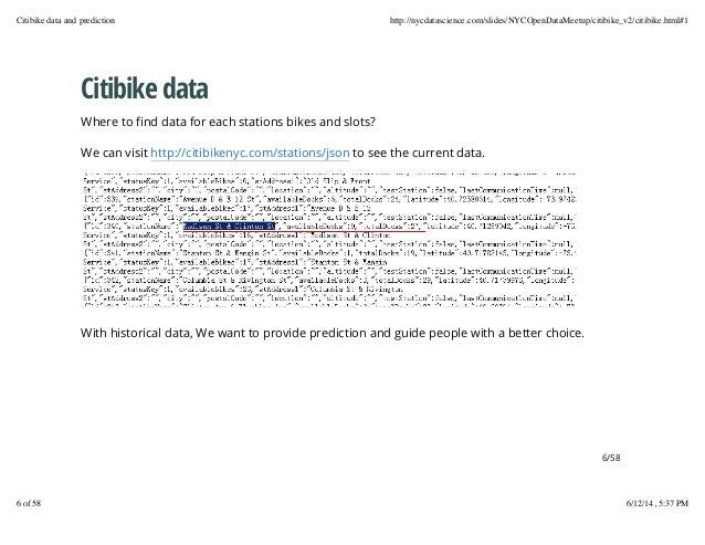 Nyc open data project ii -- predict where to get and return my citibi…