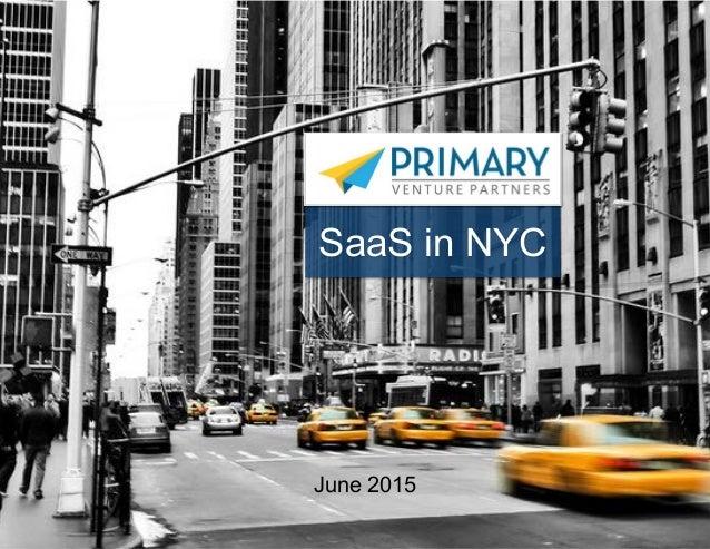 1 SaaS in NYC June 2015