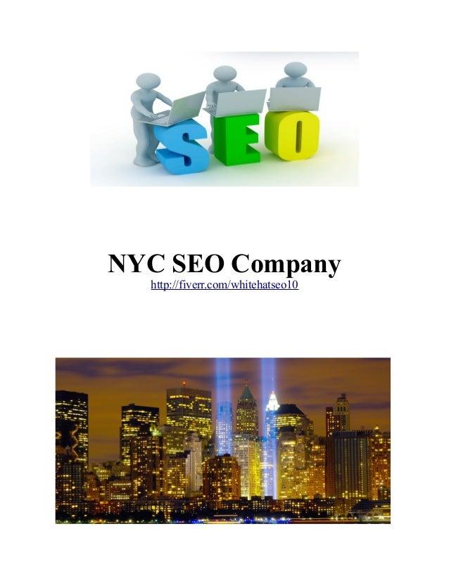 NYC SEO Company http://fiverr.com/whitehatseo10
