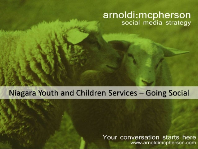 Niagara Youth and Children Services – Going Social