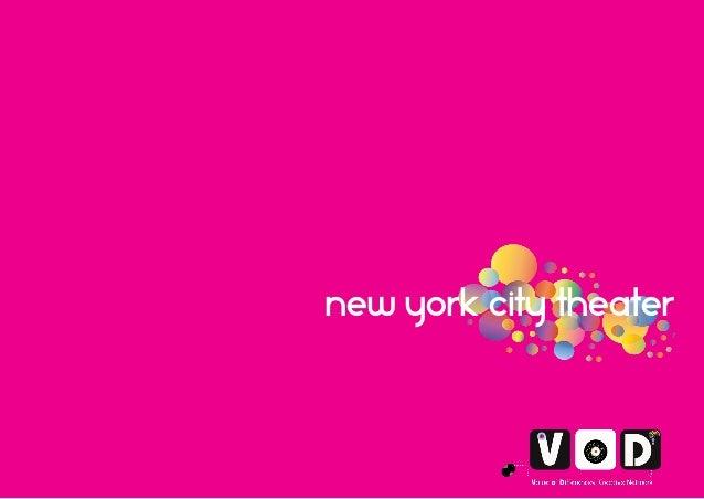 Venice city vision  New york city theater