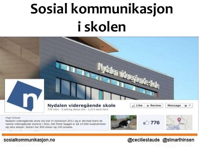 Sosial kommunikasjon i skolen