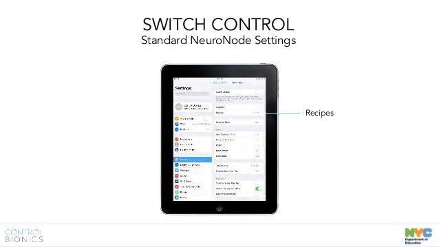Control Bionics NeuroNode: New York Department of
