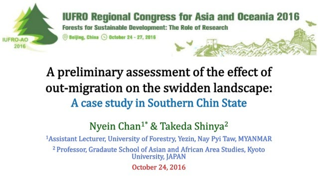 Swidden A land use system, widely used by ethnic groups in SE Asia, that employs a natural or improved fallow phase, which...