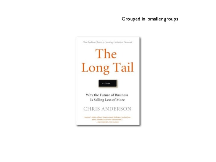 The Long Tail briefly explained