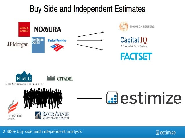 Moneyball for earnings estimates