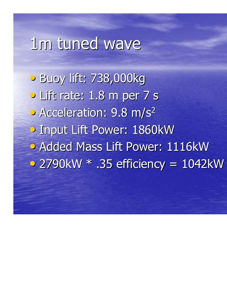 Nyit 2 June 2011 Presentation Wave Energy Conversion