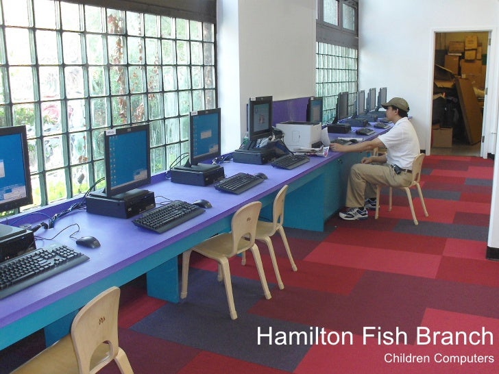 Hamilton Library Presentation Room