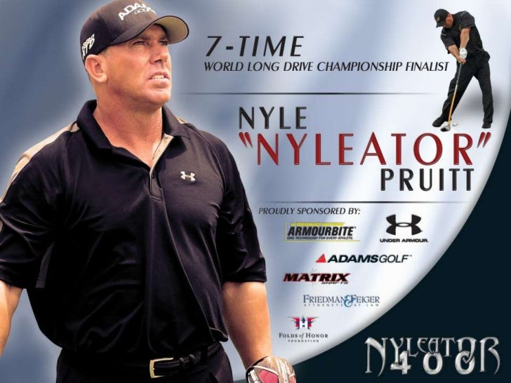 "Over the last 8 years Nyle Pruitt has performed in over 500 Charity andCorporate Golf Events. Known as the ""Nyleator"" beca..."