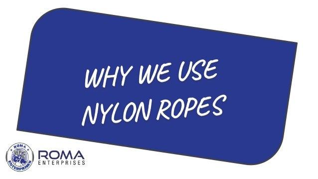 Nylon Rope Suppliers In UAE   Roma Enterprises