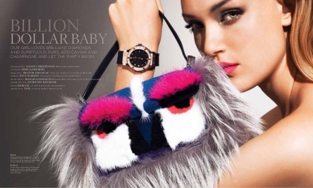 fendi Mink and fox fur mini baguette ($4,450) available at Fendi, 677 Fifth Avenue, New York, NY; (212) 759-4646 and 9700 ...