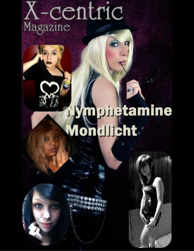 Nymphetamine Mondlicht, the GothicGirl with a strange behaviour.by DaragottNymphetamine Mondlicht is a 22 years old Altern...