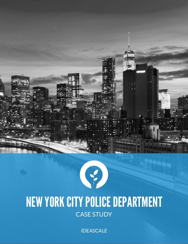 new york city police department patrol system case study
