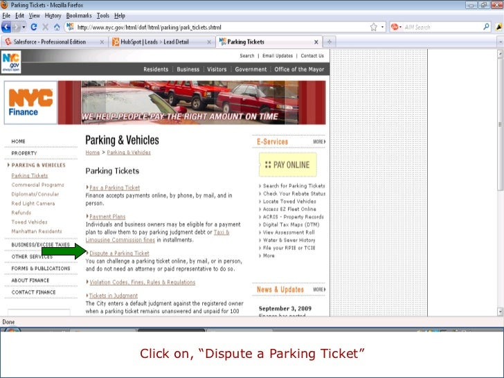 How to Apply for a Reduction of your NYC Parking Ticket Fine