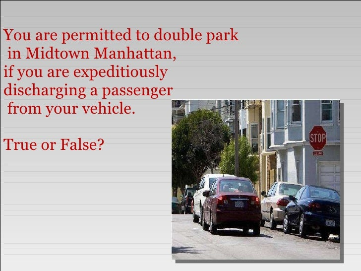 Traffic Ticket Nyc >> Test your NYC Parking Ticket I.Q.