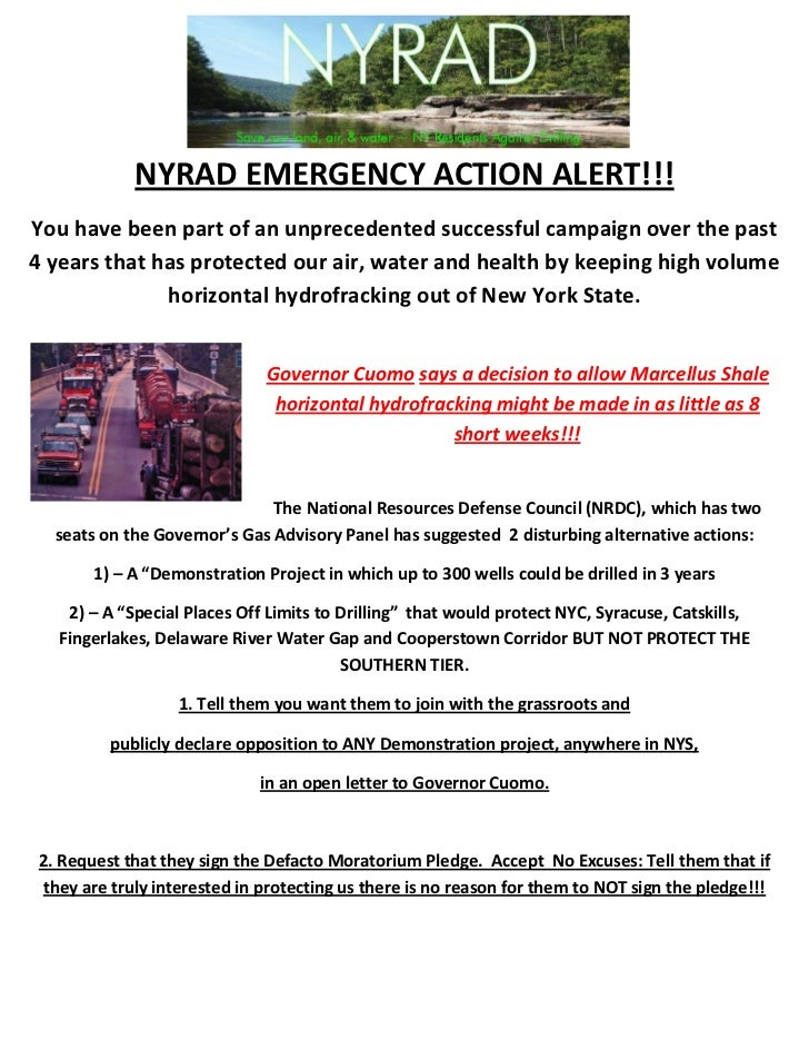 NYRAD EMERGENCY ACTION ALERT!!!You have been part of an unprecedented successful campaign over the past4 years that has pr...