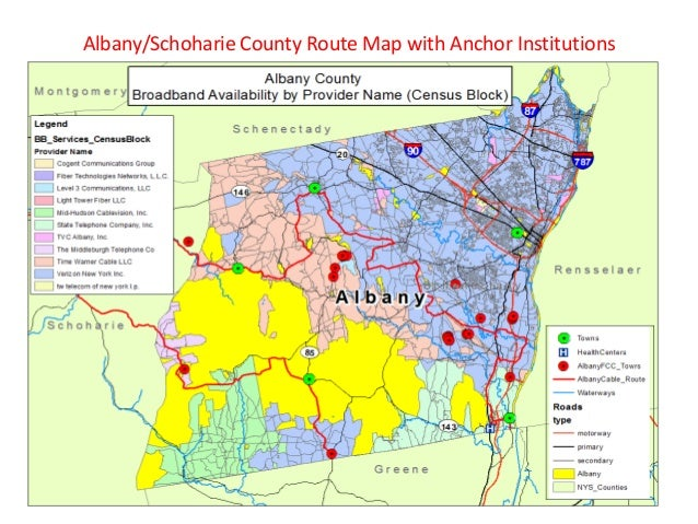 NYS broadband map vs GIS coverage data analysis 3 10