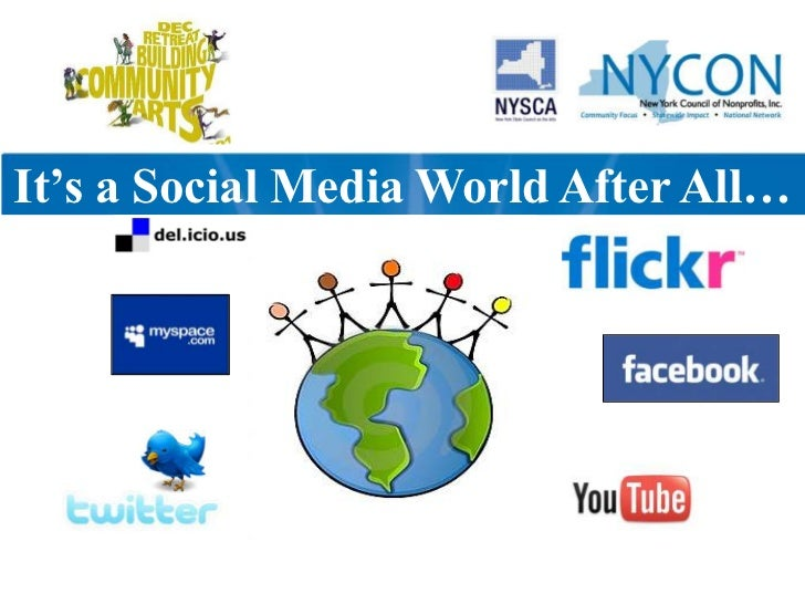 It's a Social Media World After All…<br />