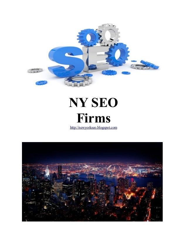 NY SEO Firms http://newyorkseo.blogspot.com