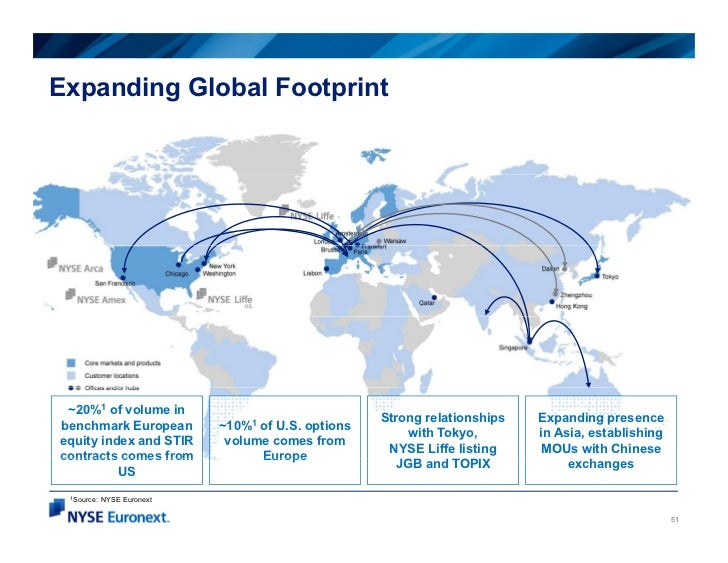 Expanding Global Footprint ~20%1 of volume in                                                    Strong relationships   Ex...