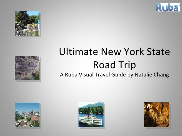 Ultimate New York State Road Trip A Ruba Visual Travel Guide by Natalie Chang