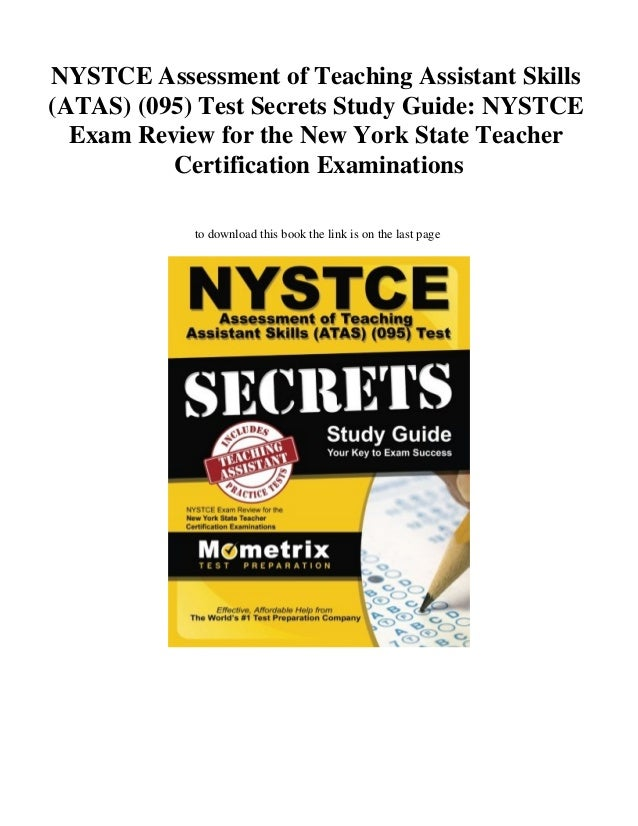 Download Nystce Assessment Of Teaching Assistant Skills Atas 095