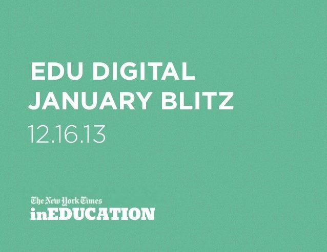 edu digital January blitz 12.16.13 inEDUCATION