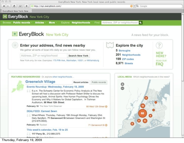 everyblock.com     Thursday, February 19, 2009