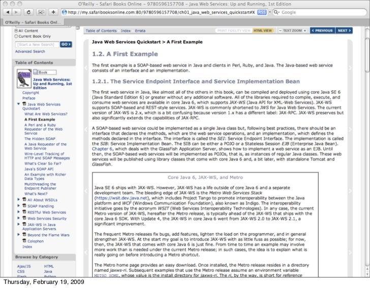 In porting over old media, we forgot                      the links     Thursday, February 19, 2009