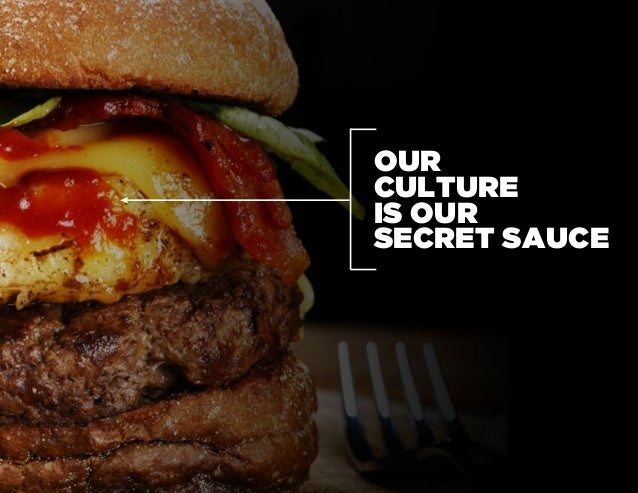 Our Secret Sauce Slide 2
