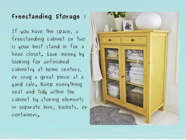Freestanding Storage ... & Bathroom Storage Cabinet Ideas by Indian Manufacturers