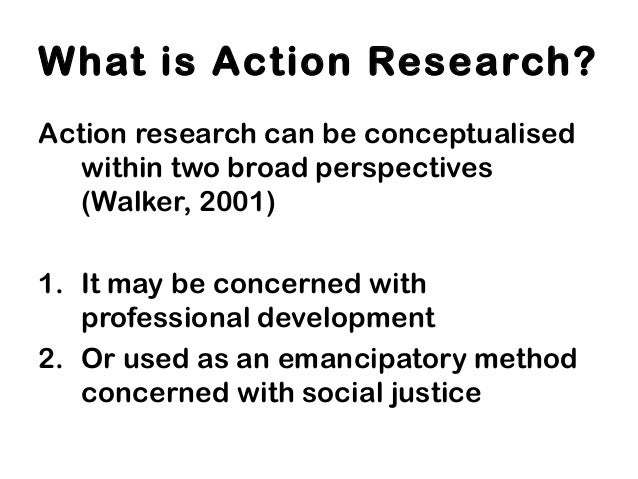 Action research introduction