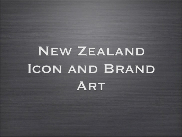 New ZealandIcon and Brand      Art