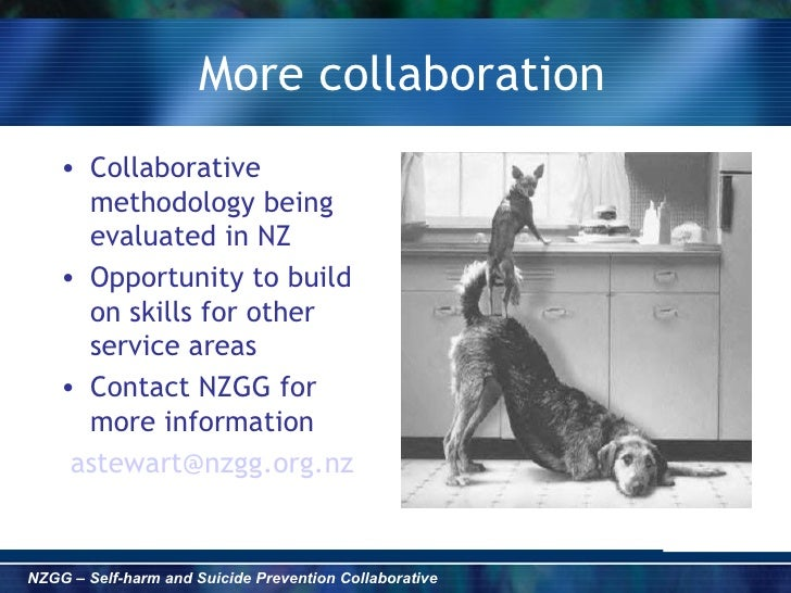 Collaborative Teaching Nz ~ Nz guidelines group self harm and suicide prevention