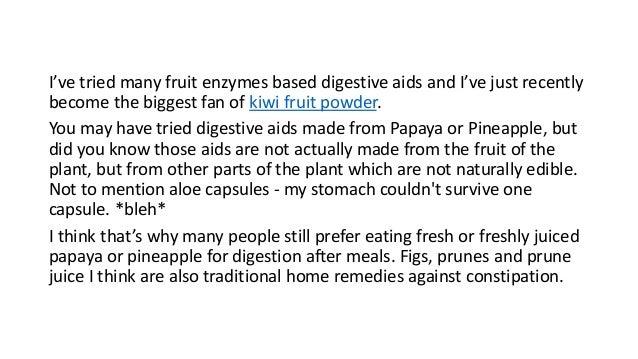 New Zealand Green Kiwifruit for Bowel Regularity Slide 3
