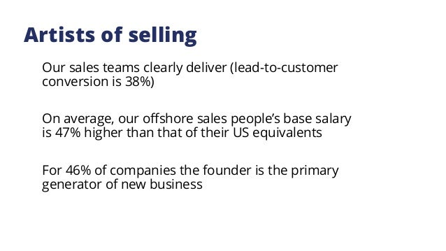 Technology selling model Changing the way we think about selling our technology