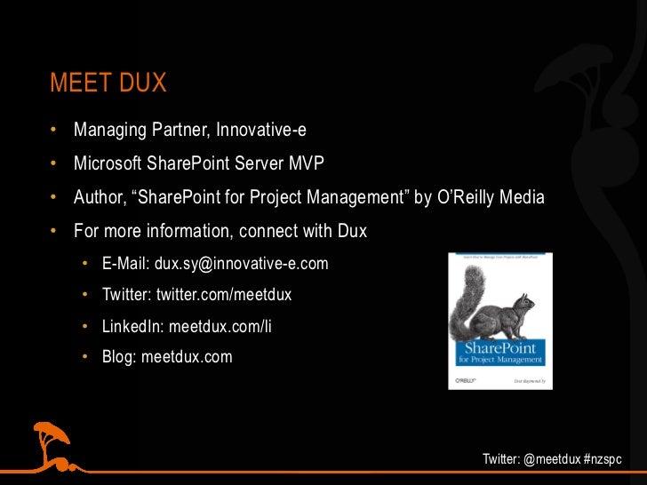 SharePoint as a Gov 2 0 Platform @ #NZSPC