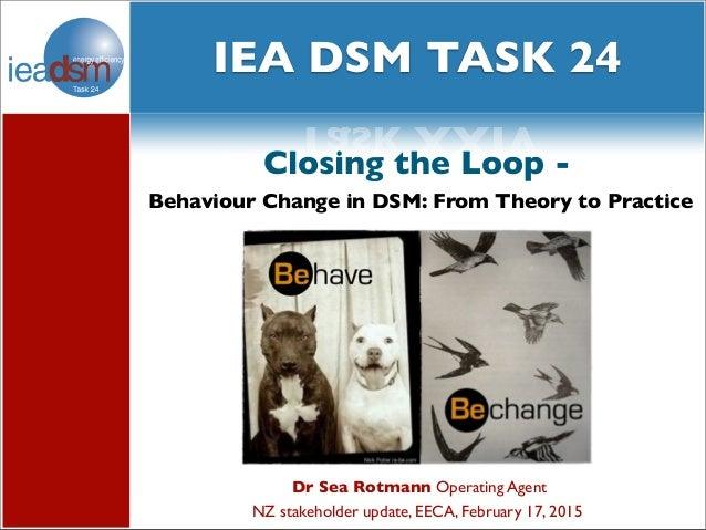 Subtasks of Task XXIV social media and Task XXIV Dr Sea Rotmann Operating Agent NZ stakeholder update, EECA, February 17, ...