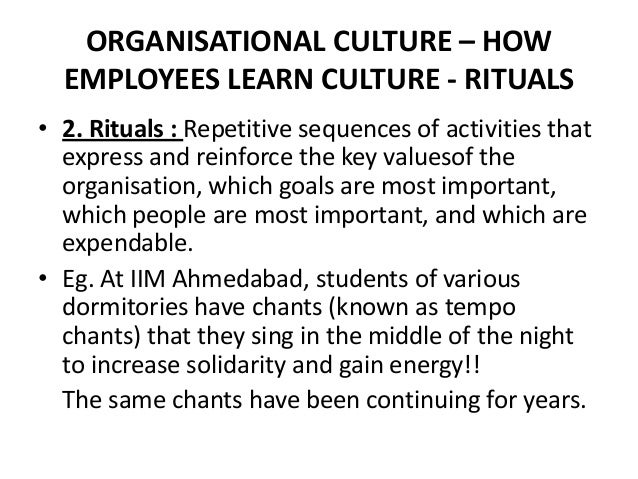 organisational culture various aspects Special attention by different researchers in different times took studying of organizational culture and its impact at organizational changes, different studies emphasize that compatibility between the effort for change and the culture is.