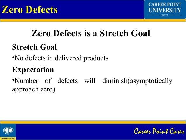 zero defect concept