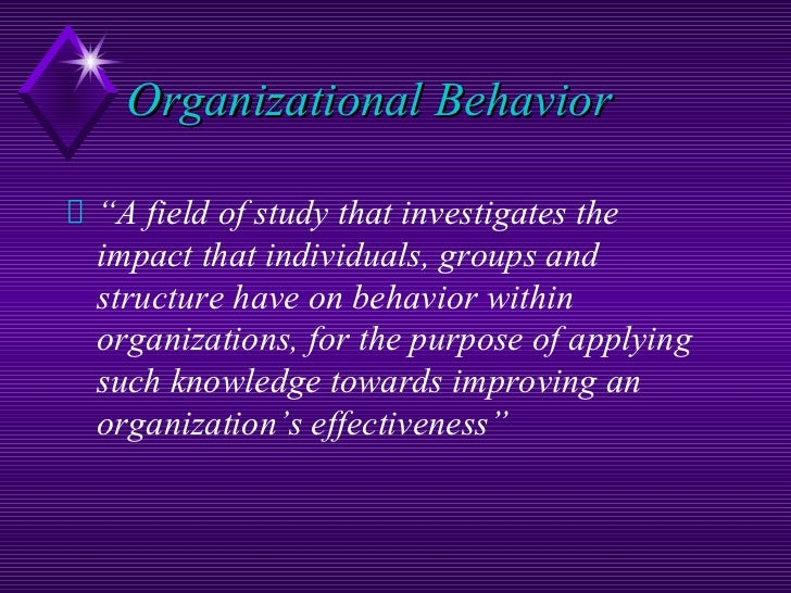 fred luthans organizational behavior chapter 1 International management: culture, strategy, and behavior10 th edition by fred luthans and jonathan doh chapter 6: organizational cultures and diversity.