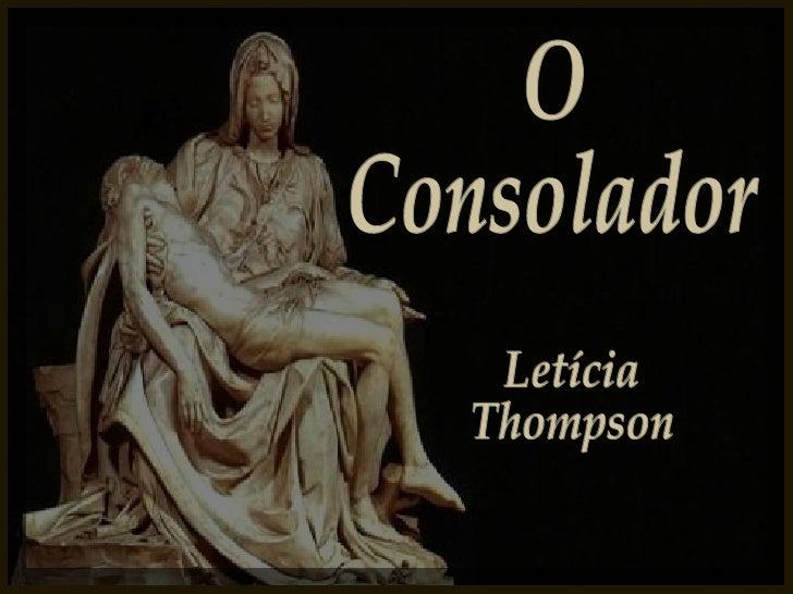 O Consolador Letícia Thompson