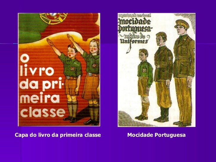 Capa do livro da primeira classe Mocidade Portuguesa