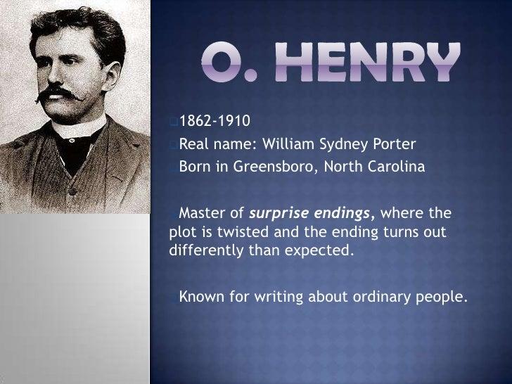 "O.Henry & ""Th...O Henry's Life"