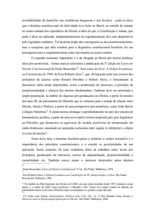 O neoconstitucionalismo no brasil 17 inviolabilidade fandeluxe Image collections